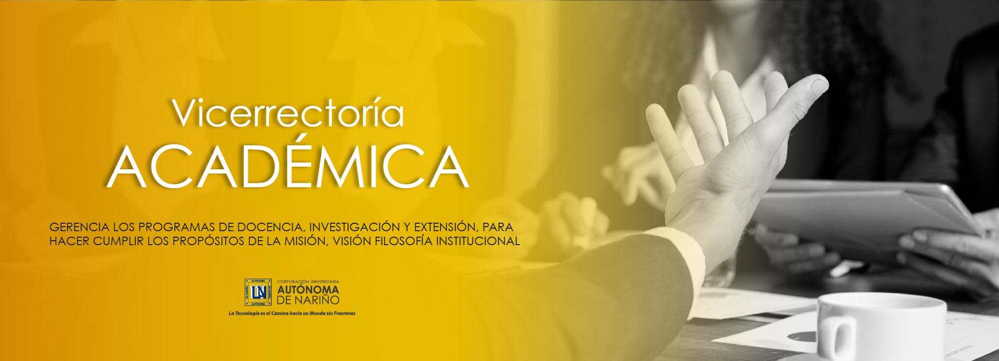 Vicerrectoría – Académica