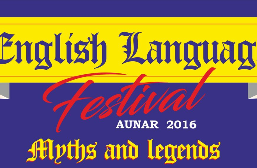 ENGLISH LANGUAGE FESTIVAL AUNAR 2016