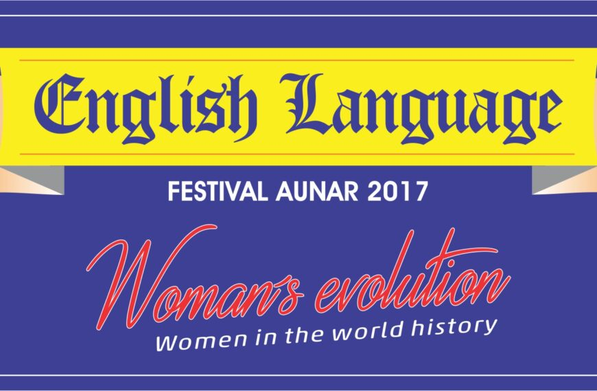 ENGLISH LANGUAGE FESTIVAL AUNAR 2017