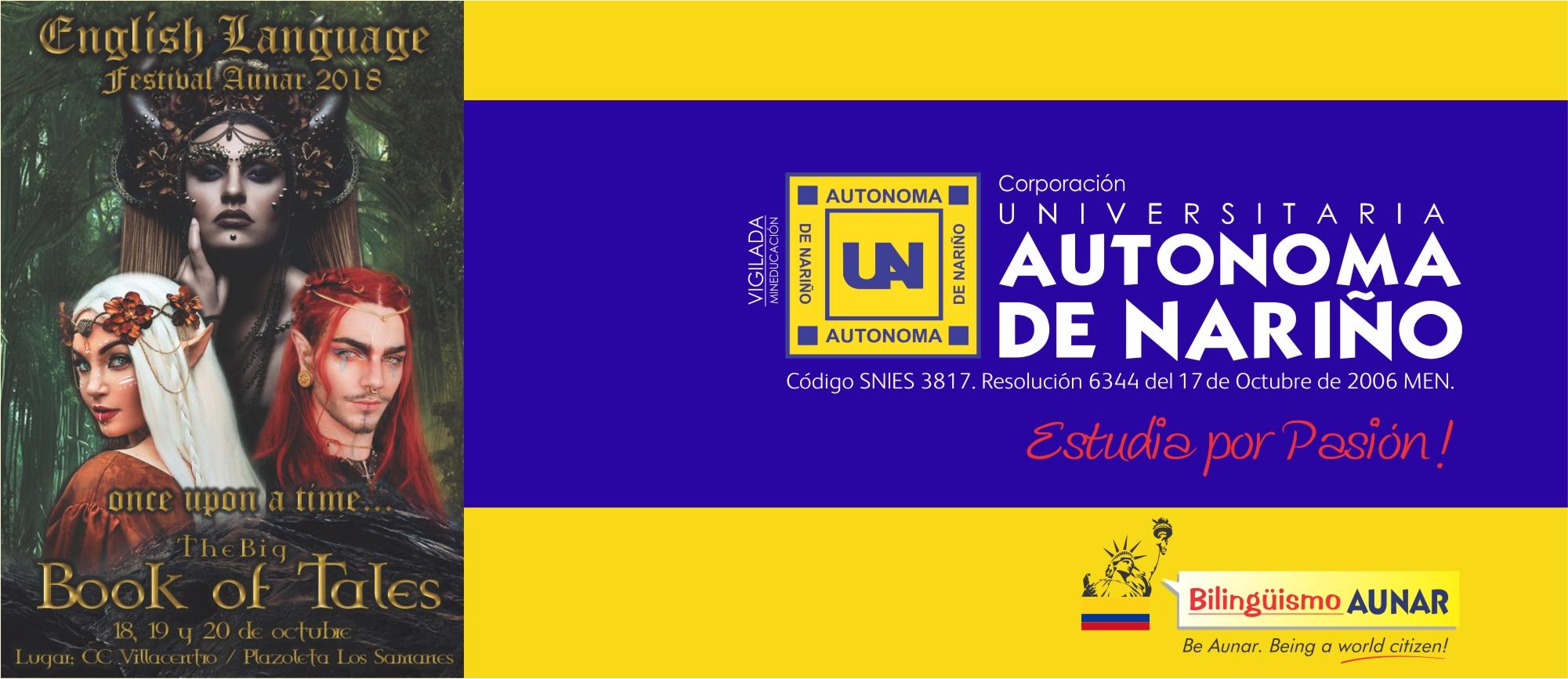 ENGLISH LANGUAGE FESTIVAL AUNAR 2018