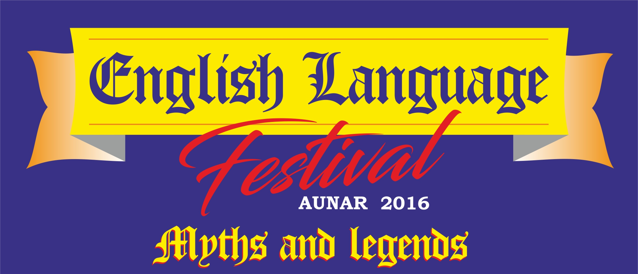 ENGLISH LANGUAGE FESTIVAL AUNAR 2016