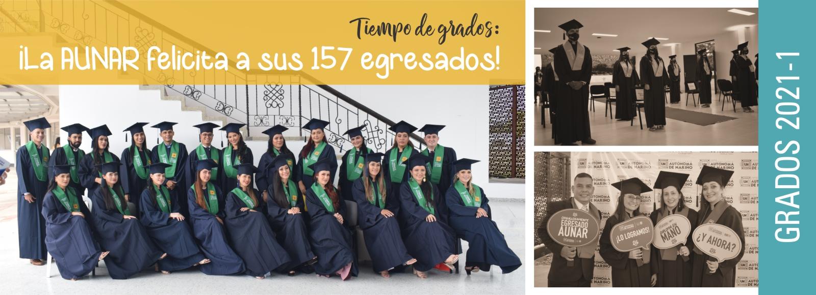 NUESTRA INSTITUCIÓN GRADUÓ 157 NUEVOS PROFESIONALES