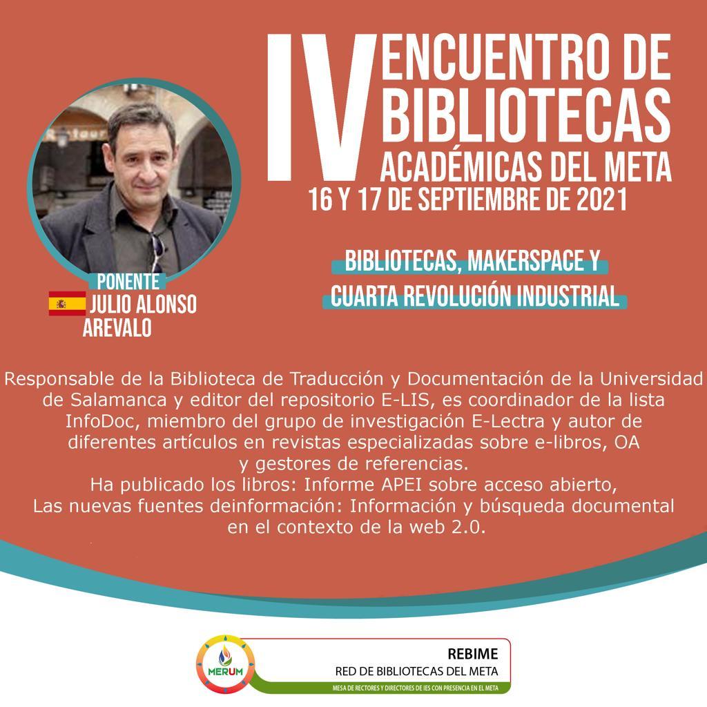 IV Encuentro de Bibliotecas Académicas del Meta